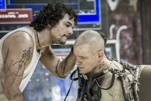 Elysium - Wagner Moura e Matt Damon