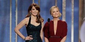 Globo de Ouro 2014 - Tina Fey e Amy Poehler - Apresentadoras