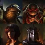Veja a provável aparência do Destruidor e das Tartarugas Ninjas