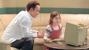 Steve jobs e a filha