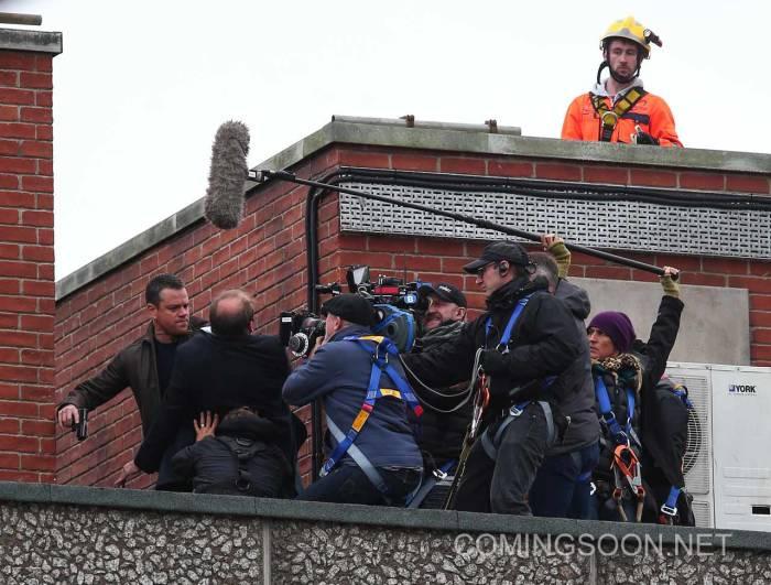'Bourne 5' filming in London