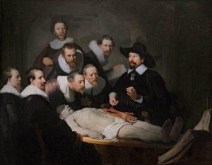 Rembrandt - A lição de anatomia do Dr. Tulp