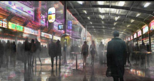 """Arte conceitual da sequência de """"Blade Runner"""""""