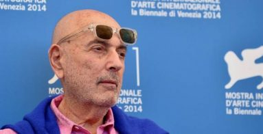 """Director Hector Babenco poses during the photocall of the movie """"Words with Gods"""" presented out of competition at the 71st Venice Film Festival on August 30, 2014 at Venice Lido.   AFP PHOTO / TIZIANA FABI        (Photo credit should read TIZIANA FABI/AFP/Getty Images)"""