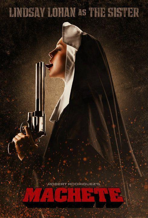 Lindasay Lohan Machete.jpg poster