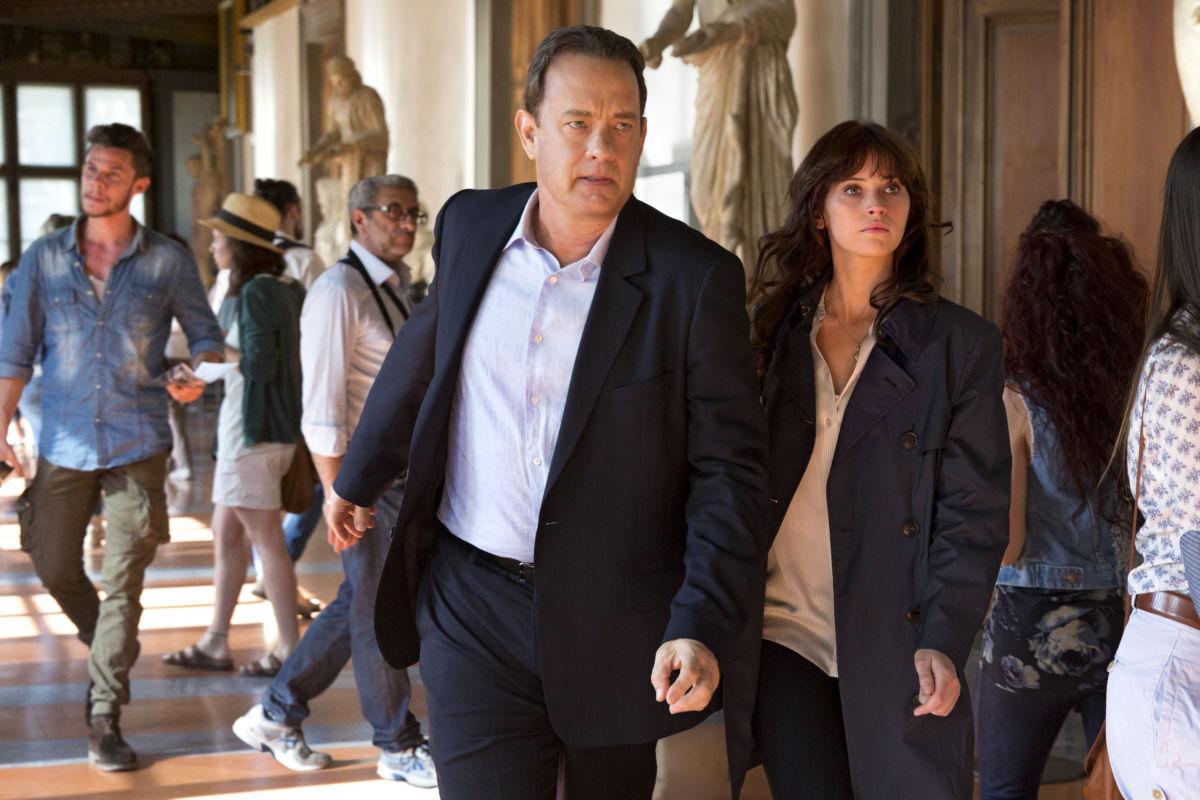 Inferno Tom Hanks;Felicity Jones