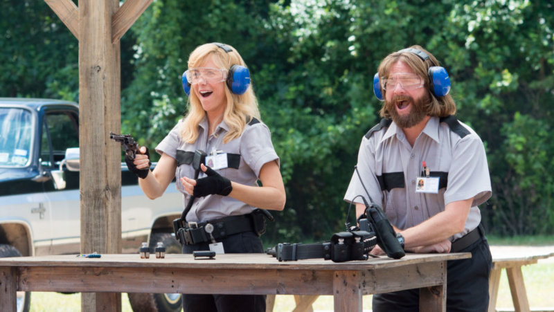 "M233 Kristen Wiig and Zach Galifianakis star in Relativity Media's upcoming release, ""Masterminds""...Credit: Glen Wilson.Copyright: ? 2014 Armored Car Productions, LLC"