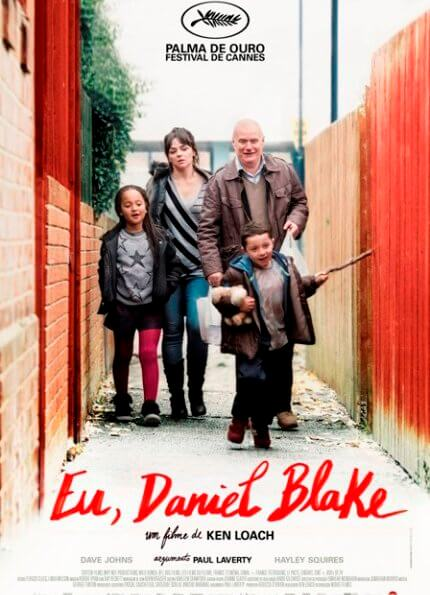 Eu, Daniel Blake - vencedor da Palma de Ouro no Festival de Cannes 2016