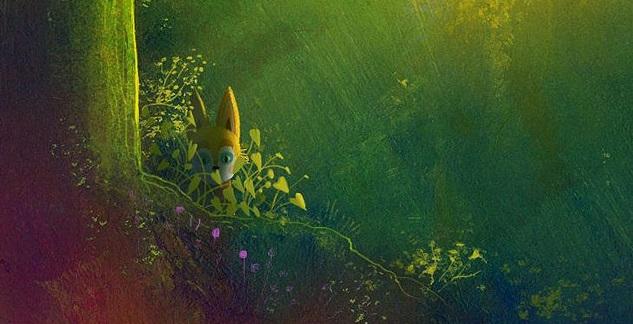Primeira imagem da nova animação de Alê Abreu: Viajantes do Bosque Encantado