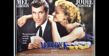 Maverick, com Mel Gibson e Jodie Foster
