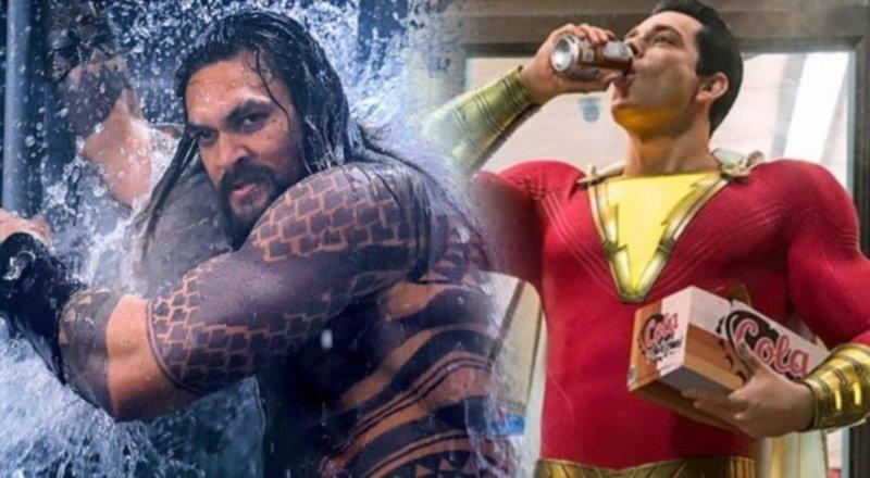 Shazam e Aquaman