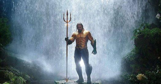 Aquaman - Jason Momoa com tridente