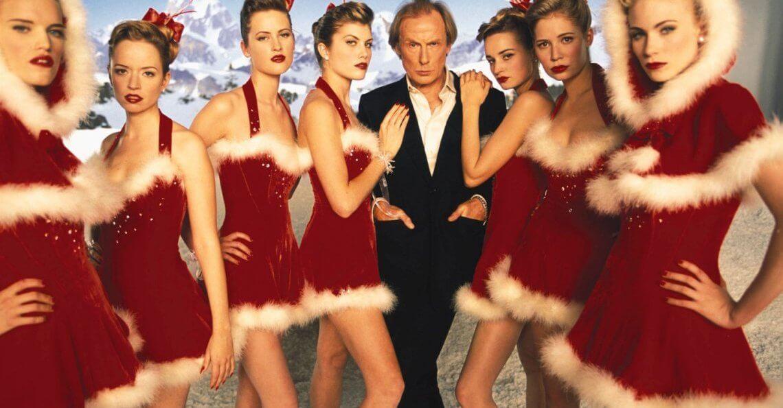 Simplesmente Amor - Bill Nighy como Billy Mack (filme de Natal)