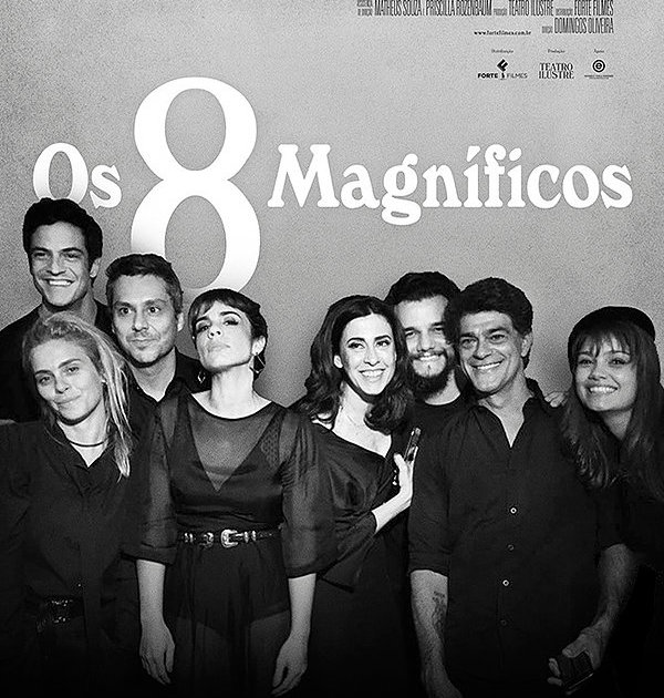 Cartaz de Os 8 Magníficos de Domingos de Oliveira