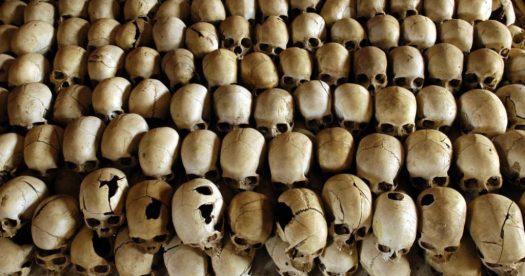 Crânios de Vídeo das Vítimas de Ruanda
