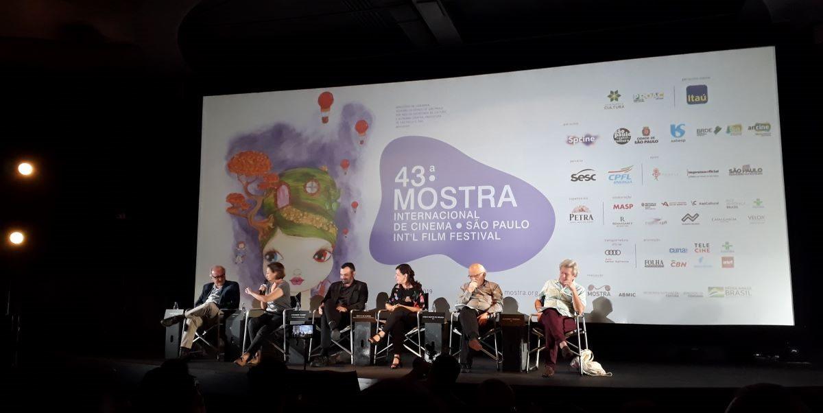 43ª Mostra Internacional de Cinema de São Paulo - coletiva de imprensa