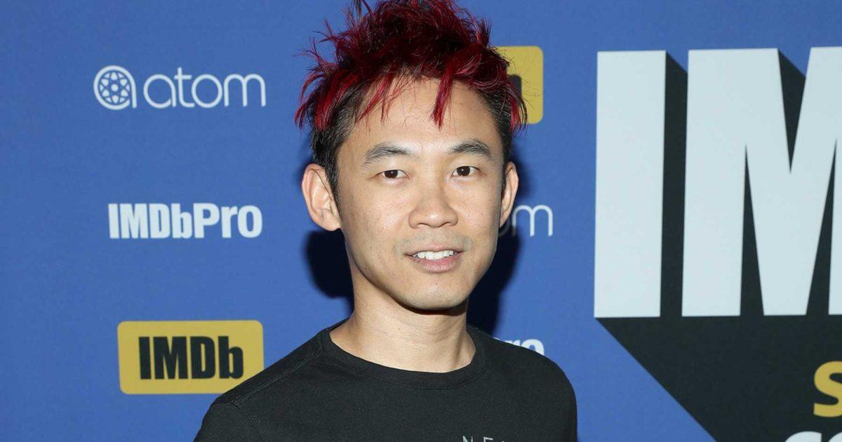 Uma imagem do diretor James Wan