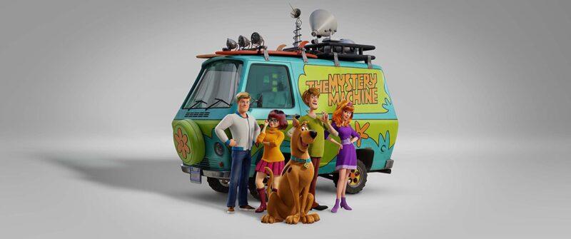 imagem de divulgação do filme novo do Scooby Doo