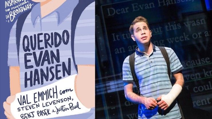 Livro Querido Evan Hansen de Val Emmich baseado no musical